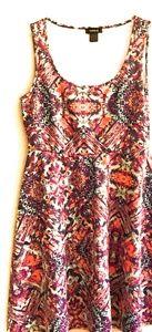 Torrid tribal print skater style dress